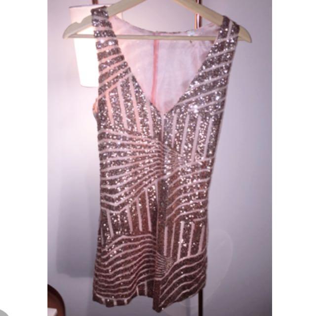 XS Sparkly Dress