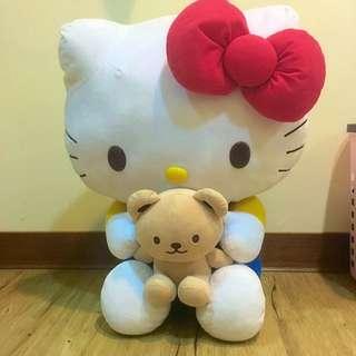 Hello Kitty 凱蒂貓 玩偶 娃娃