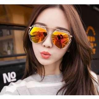 預購 歐美 明星同款 金屬 簍空 鏤空 偏光 太陽眼鏡 墨鏡