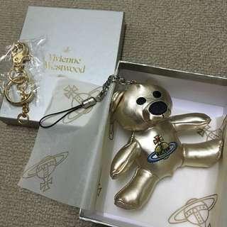 Westwood熊仔吊飾 Keychain