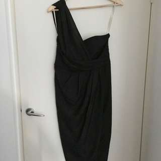 Forcast Black Dress Size 10