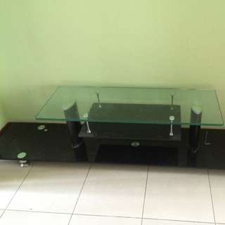 Glass Console Table (reserve)