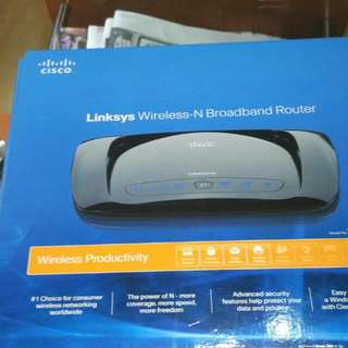 Linksys Wireless -N Braodband Router