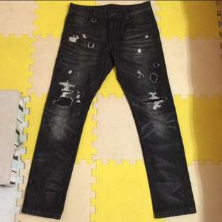 RS破壞牛仔褲