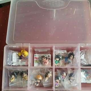Monogatari Series Keychains