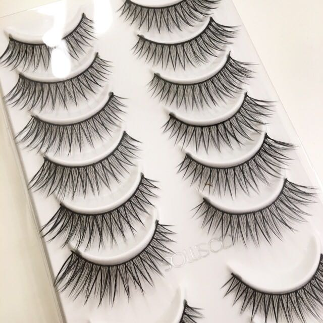 10 Pairs Cross Natural and Long False Eyelashes/falsies #416
