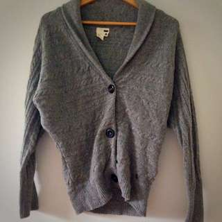 Levi's Wool Cardi W/bat Wings