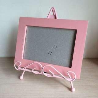 粉色相框+框架