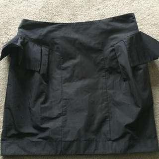 Cue Black Skirt - Size 12