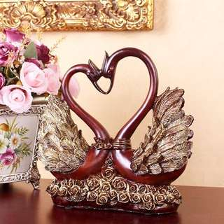 AA02-005 Swans In Love / Pajangan Angsa Couple