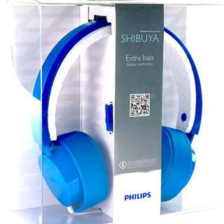BNIB Philips Headphone (Cityscape Shibuya Series)
