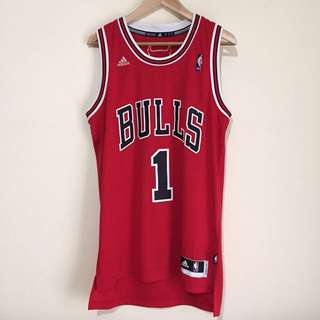 Authentic Rose Bulls Jersey Away