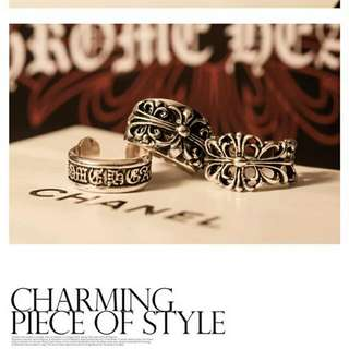🆕 [PO] Chrome Hearts Inspired Rings