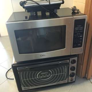 Toyomi Oven , LG Microwave And A sandwich Maker