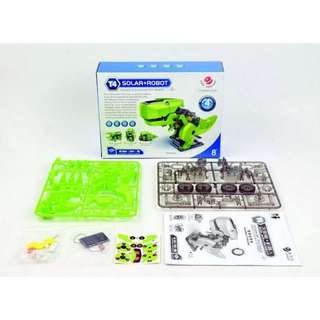 Fun & Innovative 4-in-1 Solar Educational Robot Toy. Clean & Green.