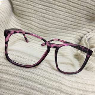 豹紋造型眼鏡