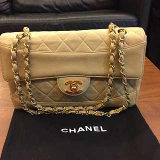 Authentic Vintage Beige Chanel
