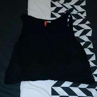 Size US4 Black Top