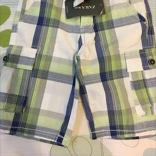 ZARA 男童短褲