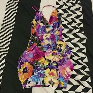 Size XXS Floral Dress