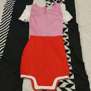 Size 6 Block Colour Dress