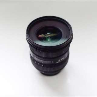 Sigma 10-20 F4-5.6 For Nikon 瑕疵降價賣