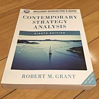 Contemporary Strategy Analysis 8th Edition Robert M. Grant