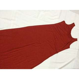 Sleeveless Cotton Spandex Dress