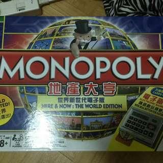 電子地產大富翁遊戲Monopoly