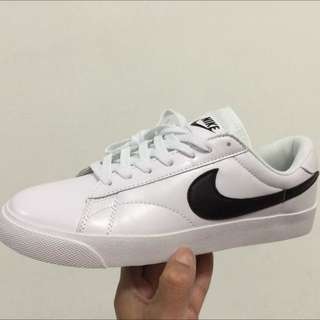 Nike Tennis Classic  AC 休閒鞋 百搭款 皮革 白黑 情侶鞋款