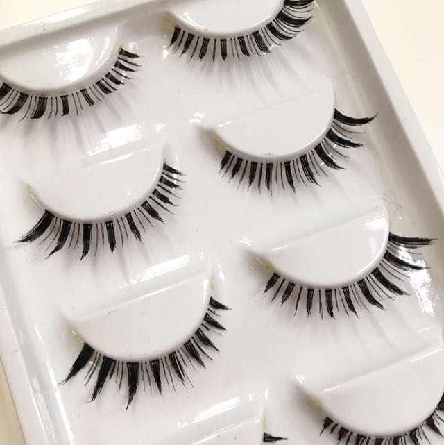 5 Pairs Super Natural Quality False Eyelashes/falsies