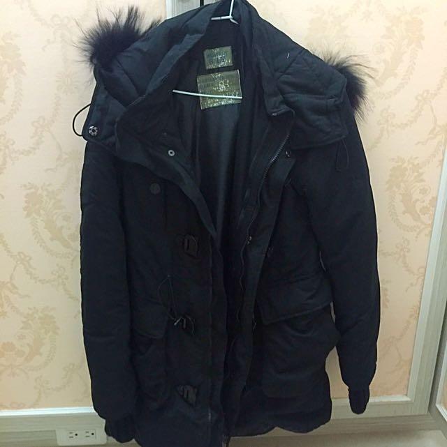 保暖長版外套✨