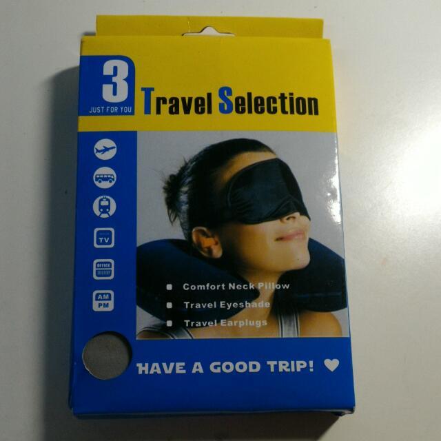 旅行包~脖枕,眼罩,耳塞