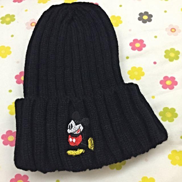 迪士尼米奇毛帽