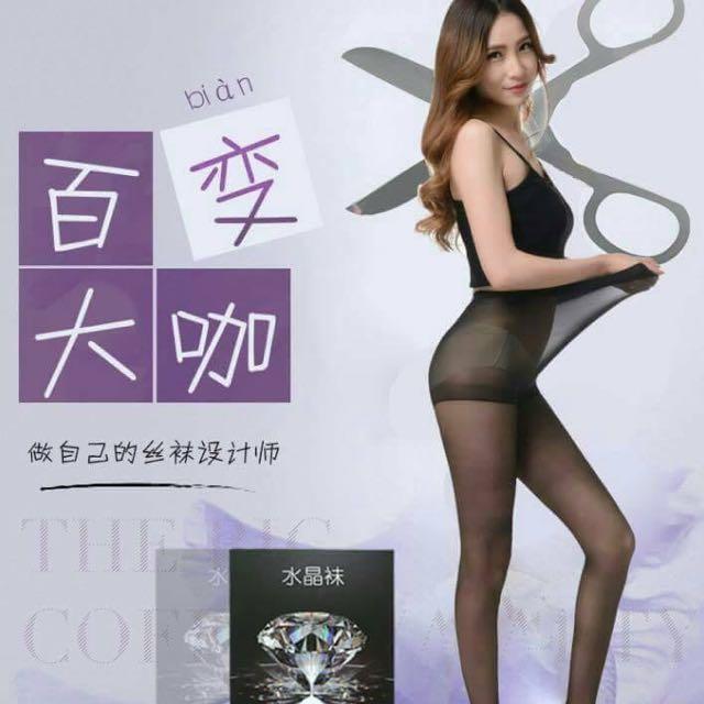 🎀  5D超薄水晶絲襪