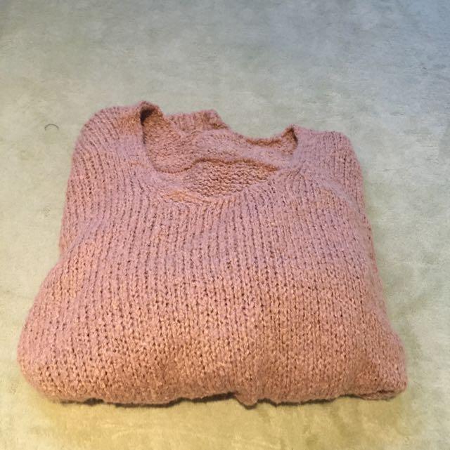 ✨針織收藏✨ 淺咖啡色針織衫
