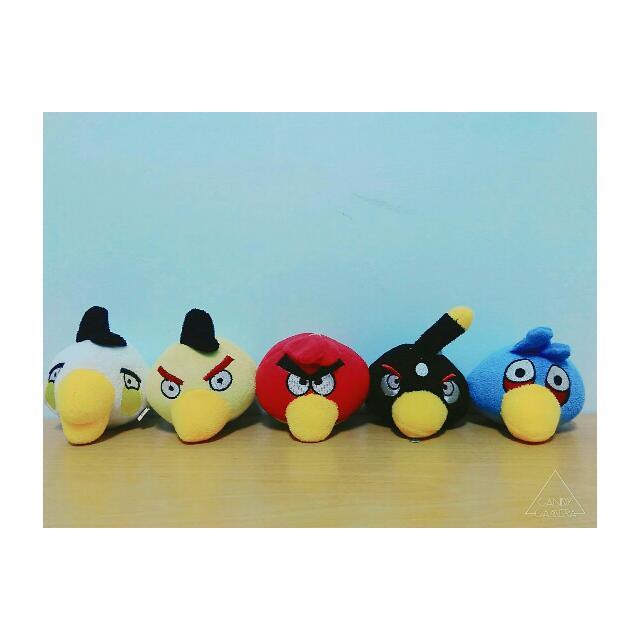 [憤怒鳥玩偶] Angry Birds/紅色/黑色/藍色/白色/紅色/App/Game