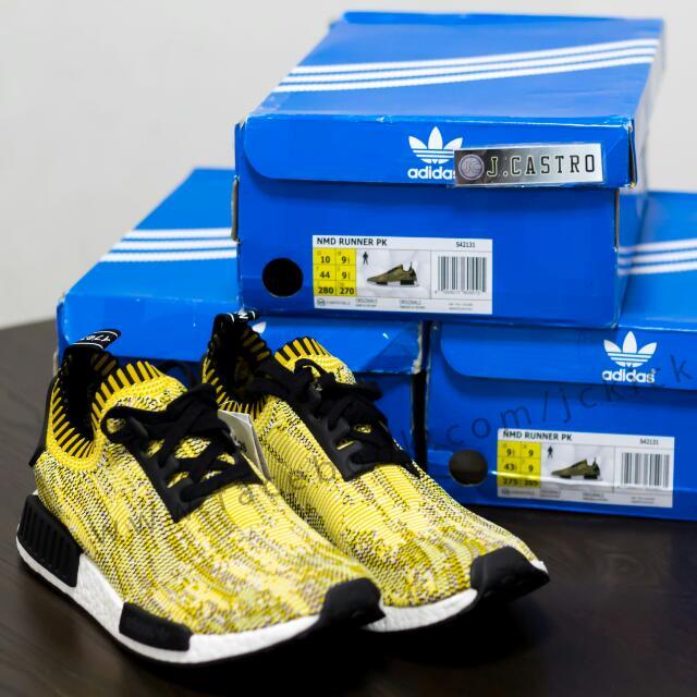 728550fb9 Adidas NMD Glitch Yellow Camo PK