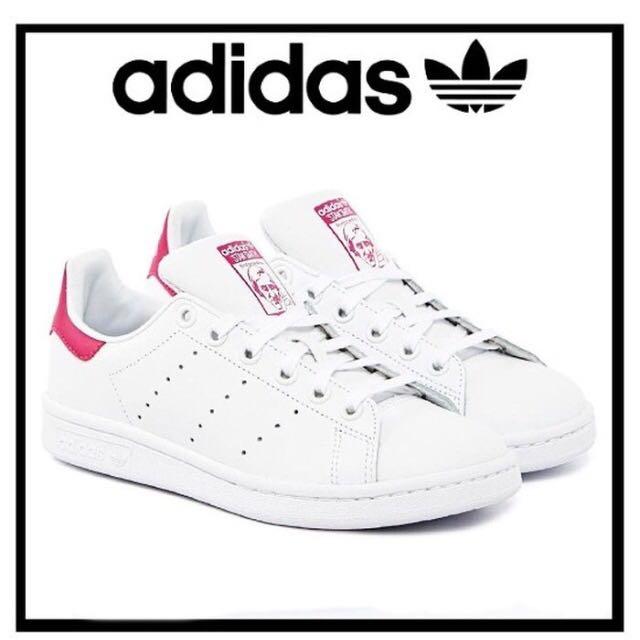 日本🇯🇵超熱賣adidas Stan Smith桃紅