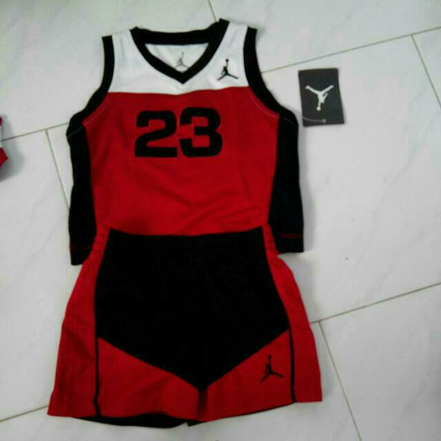on sale 7c4d5 e1cab AIR JORDAN JERSEY SET 23 JUMPMAN KIDS BABY INFANT TODDLER ...