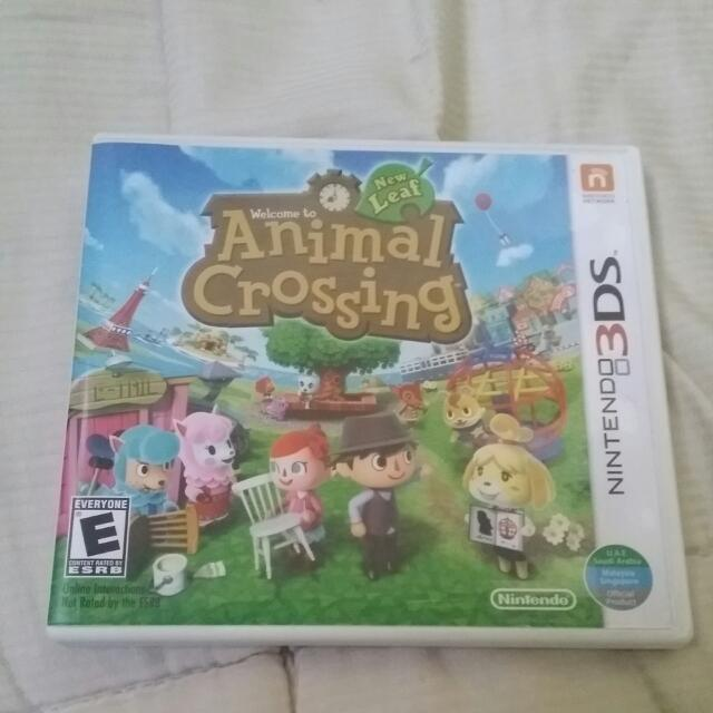 (RESERVED)Animal Crossing New Leaf 3DS