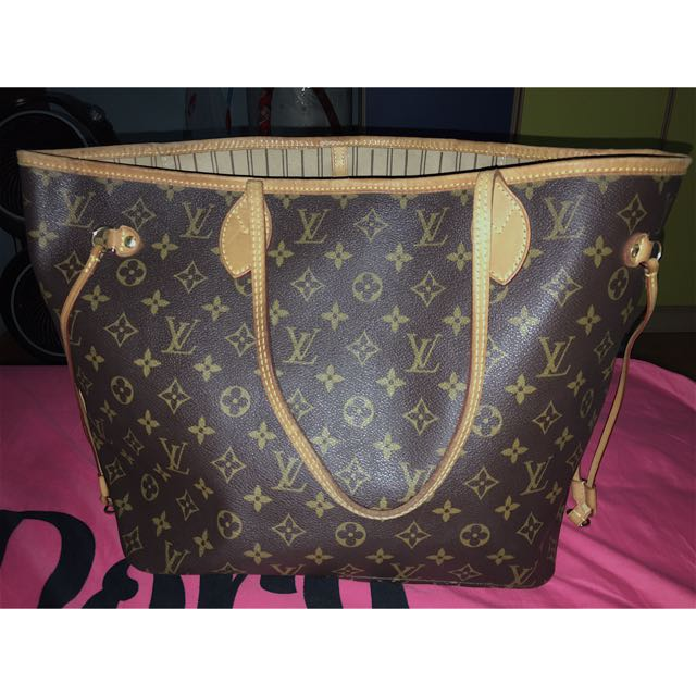 Authentic Neverfull Monogram (MM)