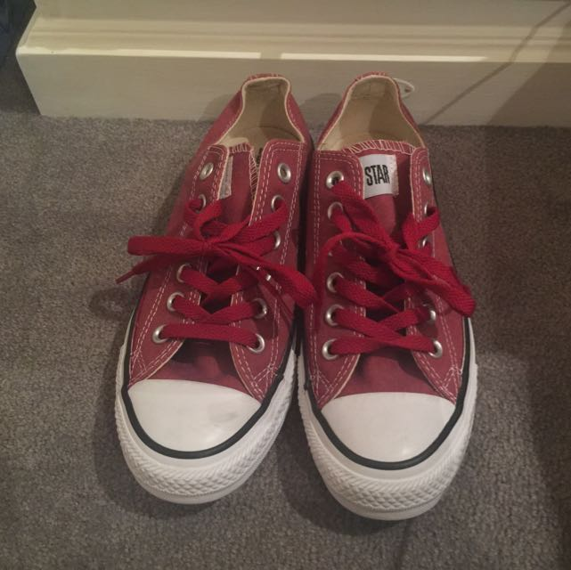 Authentic Red All Star Converse