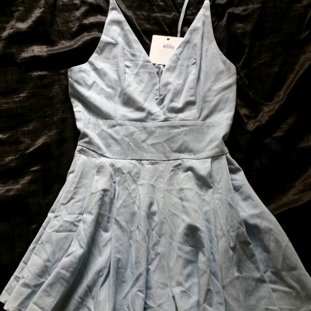 Blue Playsuit Size 10