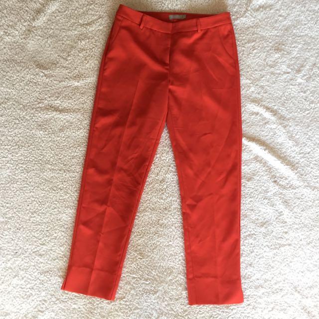 Forecast Tangerine Straight Leg Trousers S10