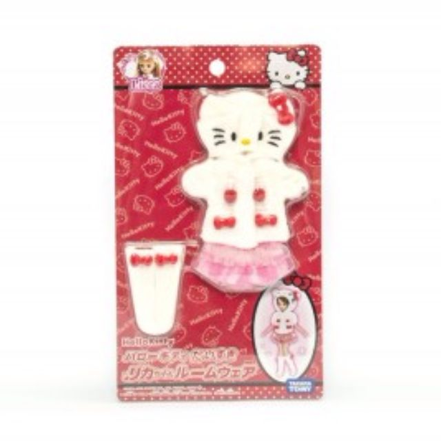 [Last Piece In Stock] NIB Takara Licca Limited Edition Hello Kitty 40th Anniversary Dress Set