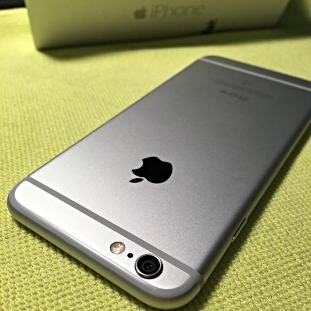 保固中 iPhone 6 64g 銀白色 台灣大哥大 保固中 The manufacturer's warranty