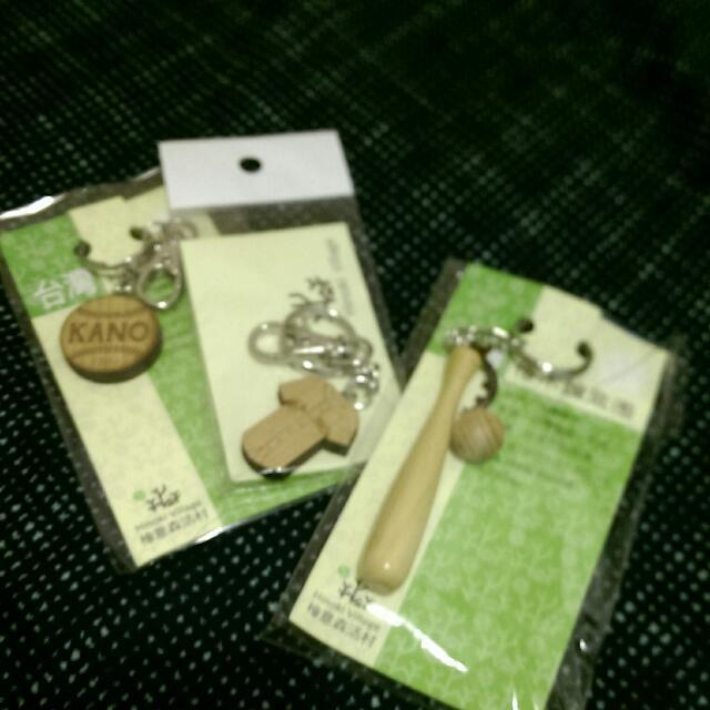 【全新未拆】Kano檜木鑰匙圈3入一組
