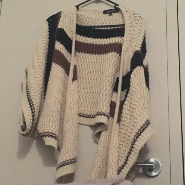 Knitted Batwing Cardigan