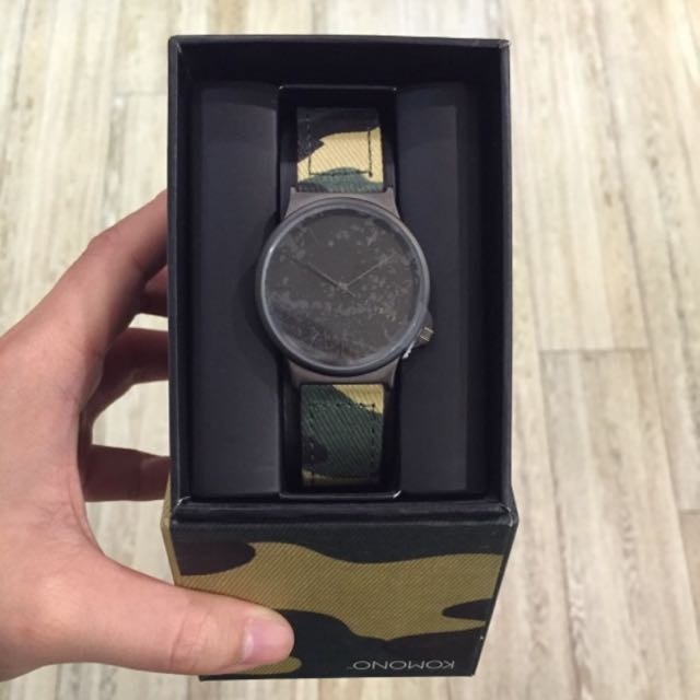 KOMONO 精靈印花系列腕錶 37.5mm